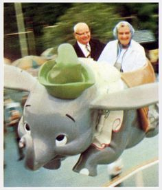 ride dumbo at disneyland, whatever your age. Grow Old With Me, Old Couples, Mature Couples, Growing Old Together, Never Grow Old, The Golden Years, Lasting Love, Old Age, Young At Heart