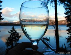 Winter into Spring Lake Photos, Priest, White Wine, Alcoholic Drinks, Spring, Winter, Glass, Winter Time, Drinkware