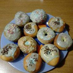 CIAMBELLE FRITTE E AL FORNO SENZA PATATE | Fatto in casa da Benedetta Donut Recipes, Frittata, Biscotti, Doughnut, Donuts, Sushi, Muffin, Eggs, Dolce