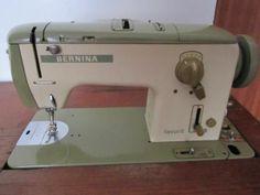 Bernina 740 Favorit in a cabinet