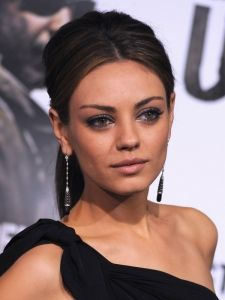 Mila Kunis Formal Ponytail