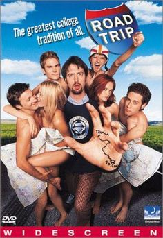 Directed by Todd Phillips. With Breckin Meyer, Seann William Scott, Amy Smart, Paulo Costanzo. Four friends take off on an 1800 mile road trip to retrieve an illicit tape mistakenly mailed to a girl friend. Road Trip Film, Road Trip 2000, Road Trips, Comedy Movies, Hd Movies, Movies Online, Movie Tv, Watch Movies, Cloud Movies
