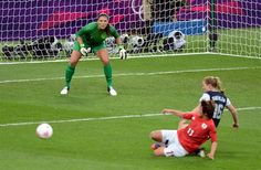 Hope Solo: Beastmode during gold medal match