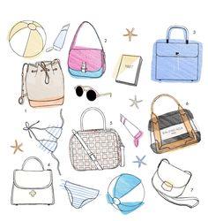 Les sacs de l'été