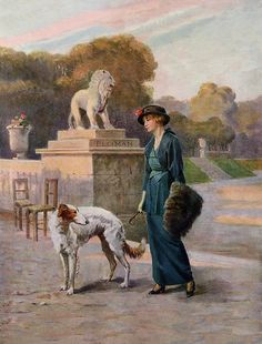 1914 JEAN BERNE-BELLECOUR -  'The Sphere'