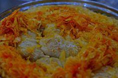 Töltött káposzta anyukámtól lépésről-lépésre | Rupáner-konyha Pork Recipes, Cabbage, Grains, Food And Drink, Rice, Vegetables, Ethnic Recipes, Cabbages, Korn