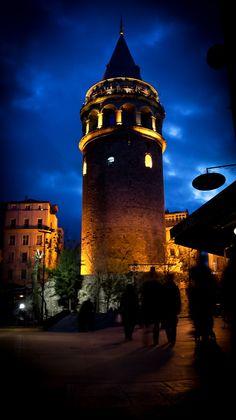 Galata Tower - Istanbul, Turkey