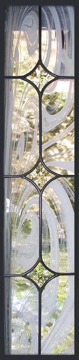 glass sidelight window