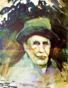 Falat, Julian (1853-1929) - 1928c. Self-Portrait (Regional Museum, Bielsko-Biala, Poland) by RasMarley, via Flickr
