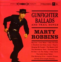 """When I turned the page to this album, I was surprised to find an artist I'd never heard of and I wasn't thrilled at the prospect of listening to a country album.  Then I listened and realised even though I didn't know the name Marty Robbins, I grew up with this album.  I knew every song and could sing along to it. It's the cause of my dislike of country music, so of course, listening to it now with """"beginners mind"""", Dad will be happy to learn, I found it's not so bad."""