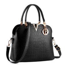38.00$  Buy now - https://alitems.com/g/1e8d114494b01f4c715516525dc3e8/?i=5&ulp=https%3A%2F%2Fwww.aliexpress.com%2Fitem%2FBrand-Design-Fashion-Women-Handbags-Lady-High-Quality-PU-Crocodile-Shoulder-Bags-ladies-handbag-For-Ladies%2F32786739474.html - Brand Design Fashion Women Handbags Lady High Quality PU Crocodile Shoulder Bags ladies  handbag For Ladies Messenger bag