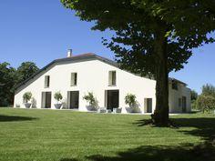 Le Vignau, Hossegor, Aquitaine, France.  Luxury villa, an architectural landmark.