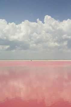 "Lake Retba in Senegal is known as ""Lac Rose"" to the French for its pink waters."