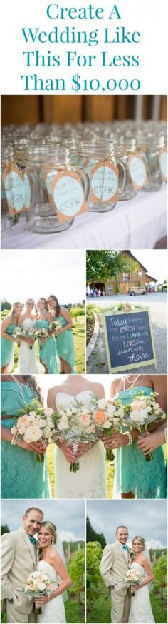 Planning a wedding on a budget of just $10,000 might seem like a challenge but once you see this beautiful wedding you will have proof that it can be done. Taking place at the Washington wedding venue, Tazer Farm, this wedding shows off a light blue color theme and a beautiful barn as a backdrop. …