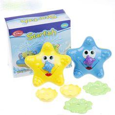 Estrellas de mar del bebé sassy juguete del baño de agua juguetes de baño natación juguetes wj083