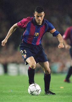 Luis Enrique Martínez García, former attacking midfielder FC Barcelona and Spain