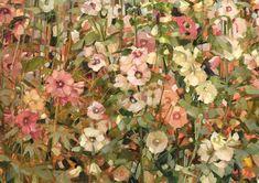 Hollyhock, Very Lovely, Paintings, Floral, Flowers, Instagram, Art, Art Background, Paint