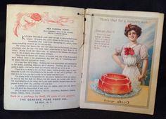 Antique Advertising Booklet Jell O Cookbook Recipe Book Lithograph Black America | eBay