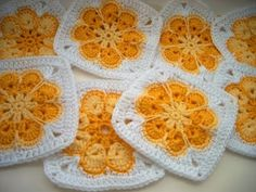 Eight Petal Flower Crochet Pattern | Baby Crochet