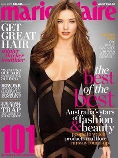 Miranda Kerr - Marie Claire Magazine Cover [Australia] (June 2013)