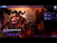Heroes of the Storm - Butcher Loading Screen Easter Egg