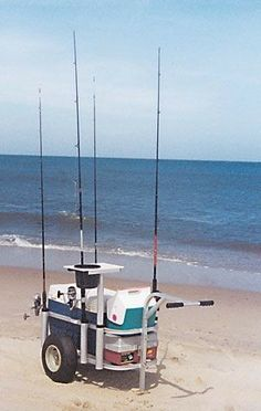 Keep everything you need for a day of saltwater fishing for Best pier fishing rod