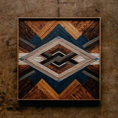 A commission for Made from wood rescued from a home-built in the Green Hills neighborhood of Nashville, TN.