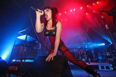 Lucia Cifarelli from the band KMFDM