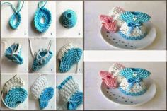 "Todo crochet: Souvenir ""vestidito"" paso a paso"