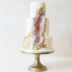 Step aside, traditional white wedding cakes, geode cakes are taking over now! Covered in stunning edible crystals, these rocky confections have become the ultimate bridal must-haves this season, making brides say goodbye to the buttercream frosting and...