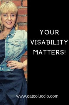 It's time to be more visible in your business and in your life. Discover how to begin today! #visibility #womeninbusiness #inspiration #motivation Wellness Tips, Health And Wellness, Midlife Career Change, Minding Your Own Business, Online Profile, Instagram Tips, Blogging For Beginners, Social Media Tips, Business Women