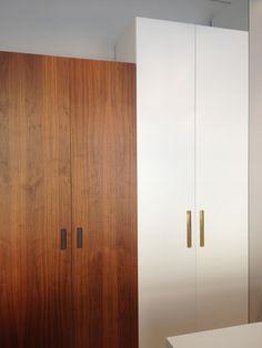 Garderobsdörrar 3000*2 pickyliving. Skåp IKEA pax 201 + faktum 70