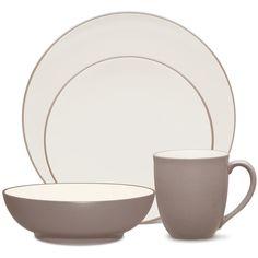 Noritake | casual dinnerware | colorwave clay 16pce dinner set