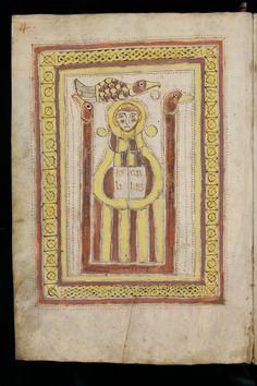 ca. 8th century 70 pp. · 27 x 18.5 cm  St. Gallen, Stiftsbibliothek, Cod. Sang. 60: Evangelium S. Johannis