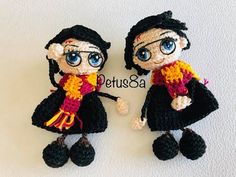 Harry Poter mini amigurumis by Petus - YouTube Crochet Doll Pattern, Crochet Dolls, Crochet Hats, Cartoon Movies, Movie Characters, Harry Potter Diy, Crochet Videos, Amigurumi Doll, Funny Kids