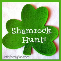 Work on spatial concepts. Fun St. Patrick's Day activity for kids!