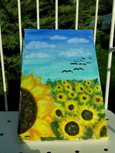 ,, sunflowers ""