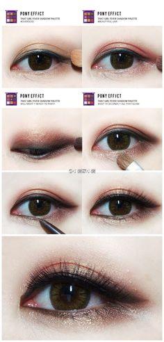 eye make up step