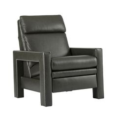 Elite Leather Stitch Recliner | Bloomingdale's