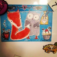 IreneEllen Snoopy, Painting, Fictional Characters, Art, Art Background, Painting Art, Kunst, Gcse Art, Paintings