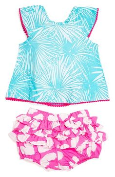 Masalababy 'Flutter' Top & Shorts Set (Baby Girls) available at #Nordstrom