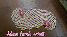 Tapete ou passadeira espiral mede 1.10m x 60 <br>Lindo e exclusivo