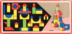 vintage product design... kid's blocks