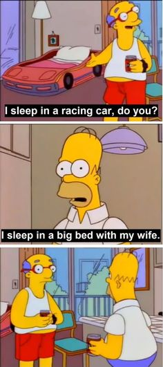 Best Simpsons comeback.
