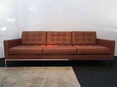 #Sofa Florence #Knoll International in #Leder