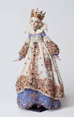 Enchanted doll by Marina Bychkova Enchanted Doll, Little Doll, Russian Art, Custom Dolls, Ooak Dolls, Ball Jointed Dolls, Beautiful Dolls, Monster High, Doll Toys