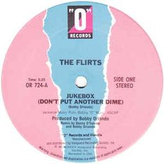 """The Flirts - Jukebox (Don't Put Another Dime): buy 12"""" at Discogs"""