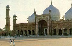 Islam expanded east to Lahore in India (now Pakistan)- where this famous mosque was built