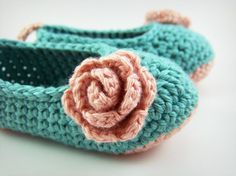 Baby Ballet Shoes, Crochet Baby Booties