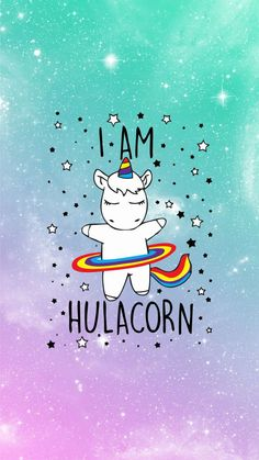 Hulacorn wallpaper